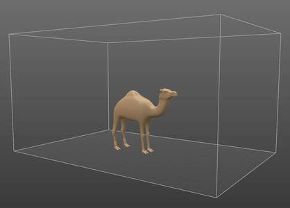 Photo - 3DC printing camel model - 3Dcoat