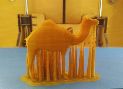Photo - 3DC printing camel figure - 3Dcoat